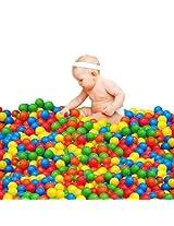 100 Pcs Kids Swim Pit Toy Colorful Ball Fun Baby Ball Soft Plastic Ocean Ball