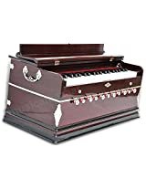 SANSKRITI MUSICALS Harmonium - A440 - 11 Stopper - Mahogany - DD