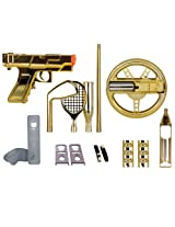 dreamGEAR Nintendo Wii 15-in-1 Player's Kit Plus (gold)