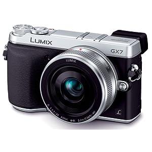 Panasonic デジタル一眼カメラ ルミックス GX7 レンズキット 単焦点レンズ付属 シルバー DMC-GX7C-S