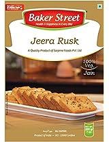 Baker Street Jeera Bread Toast Rusk 200 Gms