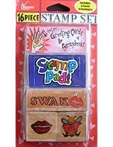 16 Piece Stamp Set