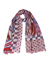 Red digital printed stole