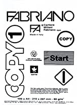 Fabriano Copy 1 Class A4 Paper (Pack of 100 Sheets)