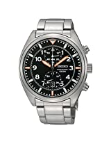 Seiko Chronograph SNN235P1 Black Analogue Watch - For Men