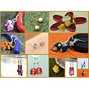 Varishta Jewells Gudiya - A dozen (12) pair(s) of cute colorful dangles for your little one