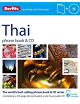 Berlitz Language: Thai Phrase Book & CD (Berlitz Phrase Book & CD)