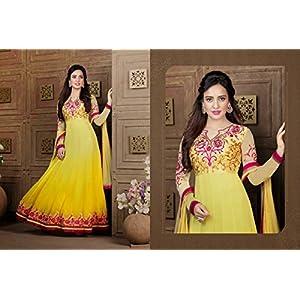 Neha Sharma's Gleaming & Marvelous Anarkali Salwar Kameez (C892P22670)