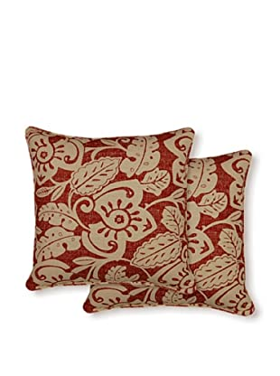 Dakota Set of 2 Amazon Pillows (Tamale)