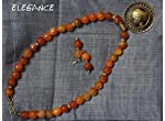 Orange agate collection