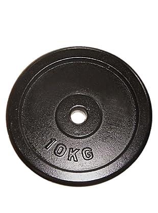 Fytter Gewichte 10 Kg Bar Disc schwarz