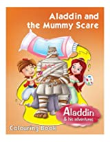Pegasus Book Aladdin And The Mummy Scare - English