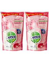 Dettol Skincare Liquid Soap Refill Pouch - 2x185 ml (Rupees 15 Off)