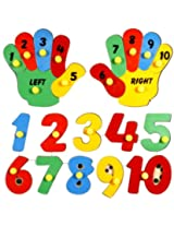 Little Genius Hand Counting Puzzle, Multi Color