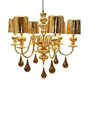 Arttex Lighting Vienne Pendant Light, Gold, Large