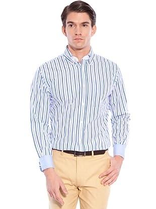 Hackett Camicia Righe (Bianco/Multi)