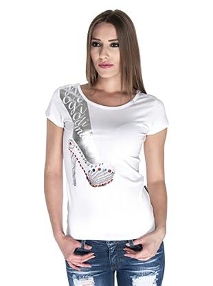 Giorgio Di Mare Camiseta Maria (Blanco)