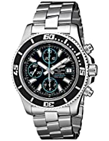 Breitling Men's BTA13341A8-BA83SS Superocean Chronograph II Analog Display Swiss Automatic Silver Watch