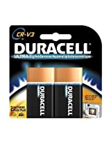Duracell 3-Volt Camera Batteries Lithium CR-V3 Size 2-Count Packages (Packaging May Vary)