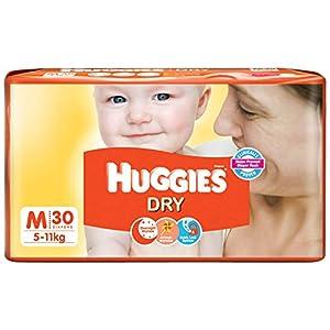 Huggies New Dry Diapers Medium (30 Count)