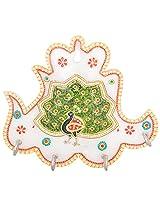 Art-n-crafts Beautiful Handicraft Marble Key Holder 4 Keys