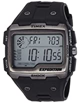 Timex Expedition Grid Shock Digital Display Grey Dial Men's Watch - TW4B02500