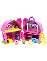 Squinkies Girls Folding Playset Barn