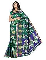 Saree Sansarr Saree (7111_Green)