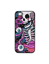 KolorFish iScary Silicone Back Thin iPhone 5 5S SKULL