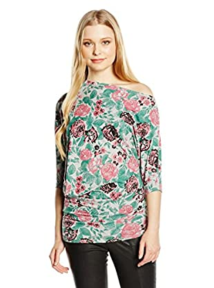 Rare London Longsleeve Shoulder Flower Top