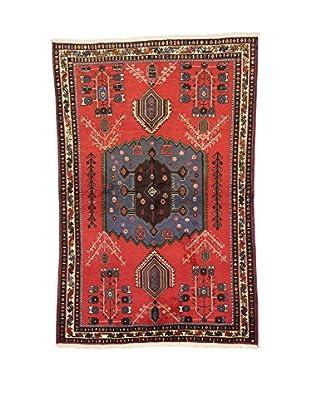 L'Eden del Tappeto Teppich Sirjand rot/mehrfarbig 218t x t141 cm