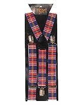 Tiekart Mens Y-Back Suspender (Sus206_Multi-Coloured)