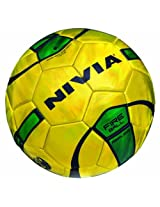 Nivia Fire Ball Replica Football, Size 1 (Golden/Green)