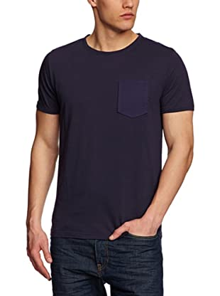 Villain Camiseta Keith (Azul Marino)