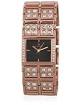Clc0083Hnix Black/Golden Analog Watch Clyda