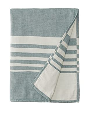 Nine Space Bali Throw, Emerald