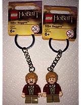 The Lego Hobbit Bilbo Baggins Keychain