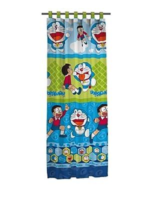 Euromoda Cortina Trabillas Doraemon & Nobita (Multicolor)
