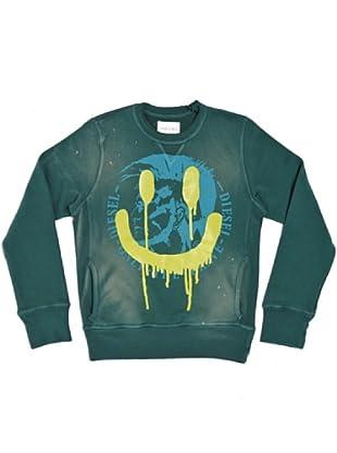 Diesel Kid Sweatshirt Sylenek (Grün)