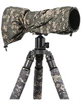 LensCoat LCRSLDC RainCoat RS for Camera and Lens, Large (Digital Camo)