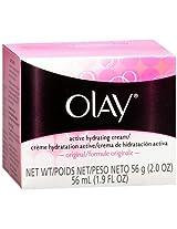 Olay Active Hydrating Cream, Original 2 Oz / 56 G