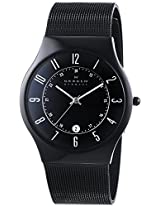 Skagen Classic Analog Black Dial Men's Watch - 233XLTMB