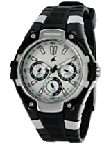 Fastrack 9335PP01 Silver Dial Men's Watch