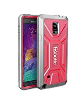 Poetic Revolution Rugged Hybrid Case for Samsung Galaxy Note 4 Pink/Gray