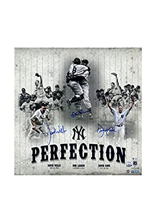 Steiner Sports Memorabilia New York Yankees 'Perfection' Triple Signed Collage, 5