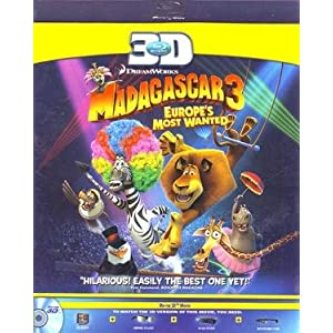 Madagascar 3: Europe's Most Wanted (3D)