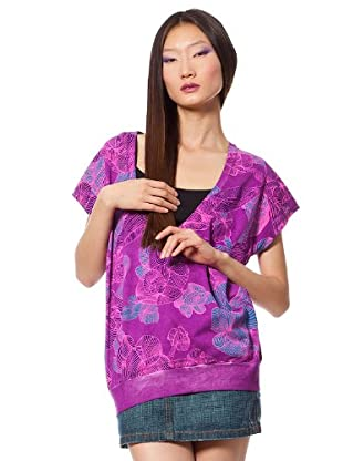 Custo Barcelona T-Shirt Wasuer (Violett)
