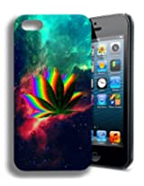 Mary Jane Cannibas Weed Funny Space Galaxy Cute Iphone 4 Case