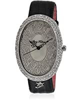 H Ph13574js/04 Black/Silver Analog Watch Paris Hilton
