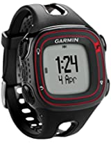 Garmin Forerunner 10 Fitness Watch, (Red/Black)